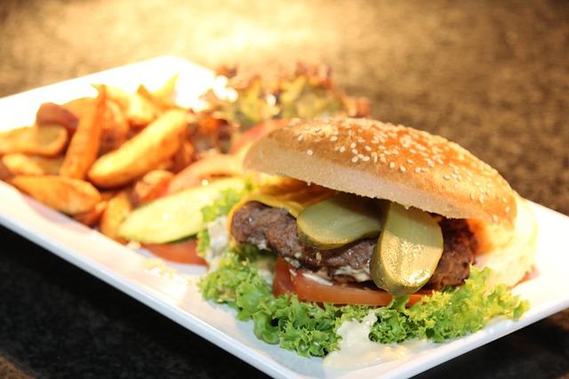 really good looking burger