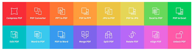 smallpdf dashboard