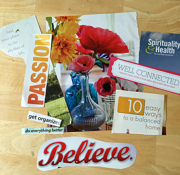 images and words to go on vision board